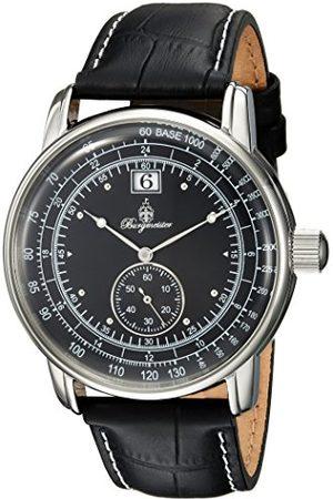 Burgmeister Męski analogowy zegarek kwarcowy ze skórzanym paskiem BM333-122