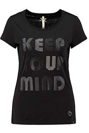 Key Largo Damska koszulka Keep Round, Black (1100), S