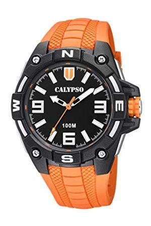 Calypso Męski analogowy zegarek kwarcowy z plastikową bransoletką K5761/3