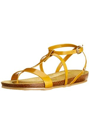 Fred de la Bretoniere Frs0384 damskie sandały z rzemykiem, - oliwkowy 7125-42 EU