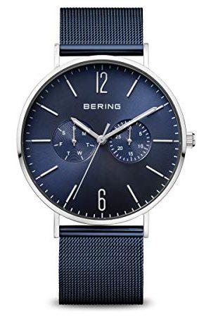Bering Męski analogowy zegarek kwarcowy z bransoletką ze stali szlachetnej 14240-303