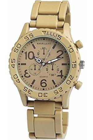 Excellanc Unisex zegarek na rękę analogowy kwarcowy różne materiały 15072750003