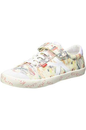 Kickers Damskie buty typu sneaker Gody, - Blanc - 38 EU