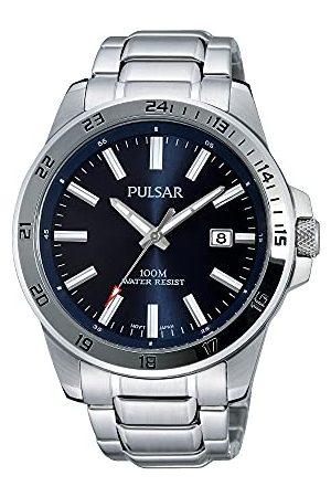Pulsar Sport PS9331X1 zegarek męski ze stali nierdzewnej z metalowym paskiem