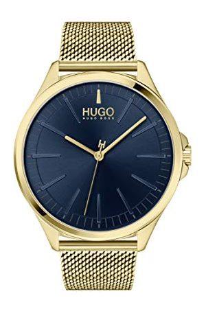 HUGO BOSS Męski analogowy zegarek kwarcowy z bransoletką ze stali szlachetnej 1530178