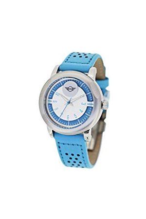 Boden Mini Unisex dorosły analogowy klasyczny zegarek kwarcowy ze skórzanym paskiem SM-025
