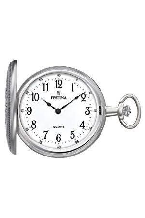 Festina Unisex-dorosły analogowy klasyczny kwarcowy połączony zegarek na rękę z paskiem ze stali nierdzewnej F2025/1