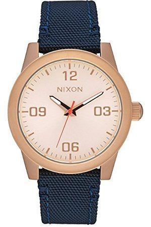 Nixon Damski analogowy zegarek kwarcowy z nylonowym paskiem A9642160