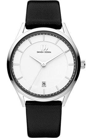 Danish Design Męski analogowy zegarek kwarcowy ze skórzanym paskiem IQ12Q1214