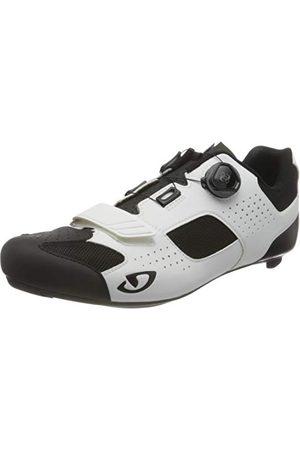 Giro Unisex Trans Boa buty rowerowe szosowe, białe/czarne, rozmiar 45 44,5 EU