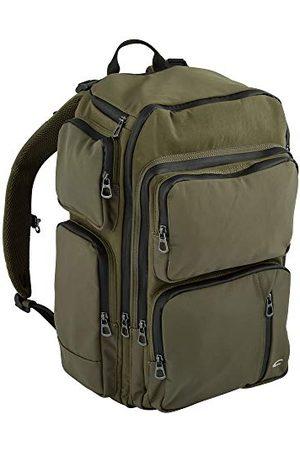 Camel Active Męski , Brooklyn, plecak , plecak, M, męski, Brooklyn, 332 201 35, zielony, ciemnoszary (ciemnoszary) - Brooklyn