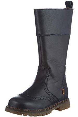 Bisgaard Dziewczęce Elin wysokie buty, - granatowy 604-26 EU