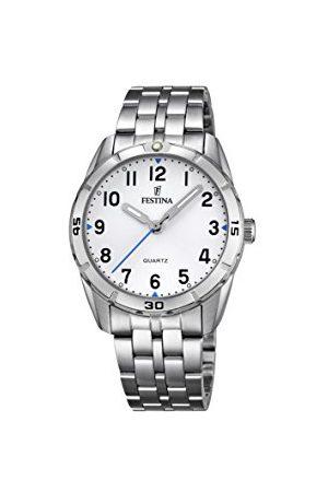 Festina Analogowy zegarek kwarcowy unisex z paskiem ze stali nierdzewnej F16907/1