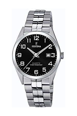 Festina Męski analogowy zegarek kwarcowy z bransoletką ze stali szlachetnej F20437/4