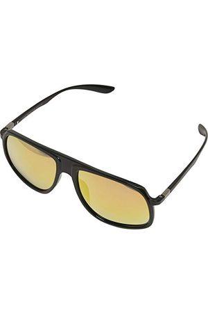 Urban classics Uniseks dla dorosłych TB2779-01216 okulary przeciwsłoneczne, negro/Amarillo, 55 x 20 x 140 mm