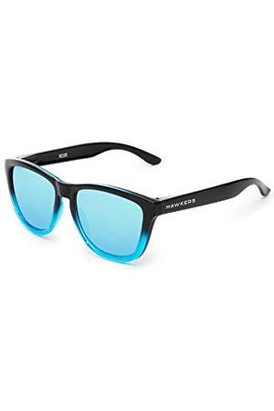 Hawkers Unisex okulary przeciwsłoneczne dla dorosłych, polaryzacyjne Fusion · Clear Blue One, niebieskie (Azul), 50.0