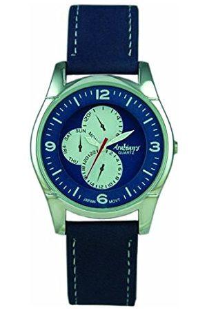 ARABIANS Męski analogowy zegarek kwarcowy ze skórzanym paskiem DBP227A