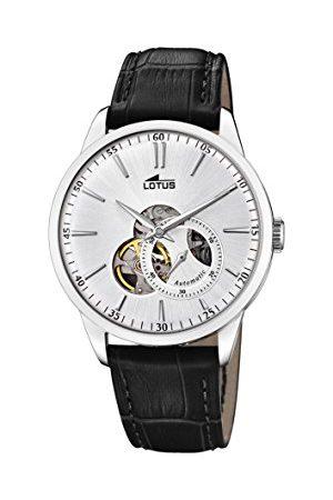 Lotus Męski analogowy klasyczny automatyczny zegarek ze skórzanym paskiem 18536/1