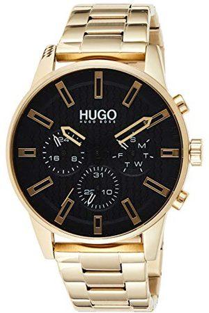 HUGO BOSS Męski analogowy zegarek kwarcowy z paskiem ze stali nierdzewnej 1530152