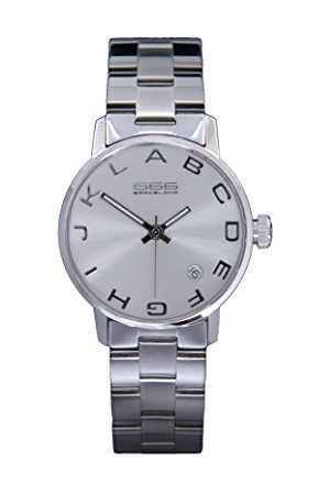 666Barcelona Uniseks dla dorosłych analogowy zegarek kwarcowy z bransoletką ze stali szlachetnej 66-275