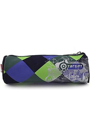TARGET Dziecięca torba sportowa 11-4955, zielona/niebieska/czarna