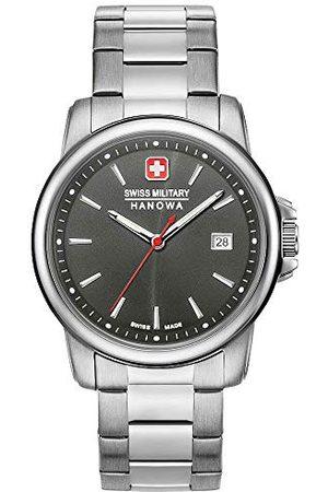 Swiss Military Hanowa Unisex Dorośli Analogowy zegarek kwarcowy z bransoletką ze stali szlachetnej 06-5230.7.04.009