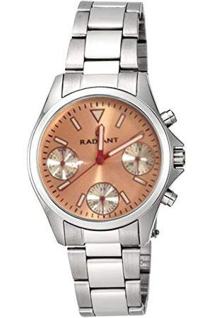 Radiant Unisex Dorośli Chronograf kwarcowy zegarek z bransoletką ze stali szlachetnej RA385705A