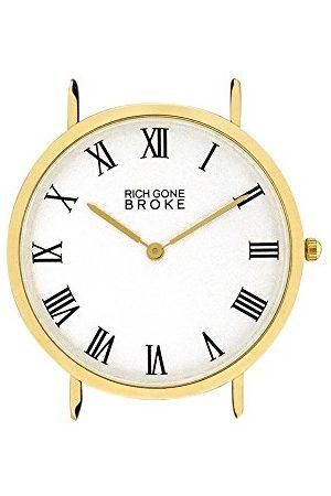 Rich Gone Broke Analogowy zegarek kwarcowy unisex bez paska GMCASE