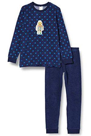 Schiesser Piżama chłopięca frotte, długa piżama