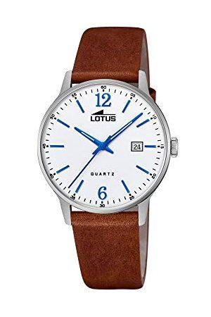 Lotus Męski analogowy zegarek kwarcowy ze skórzanym paskiem 18695/2