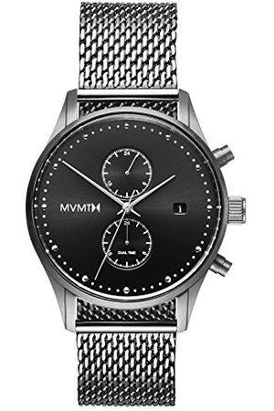 MVMT Męski multicyferblat kwarcowy zegarek z bransoletką ze stali szlachetnej D-MV01-S2