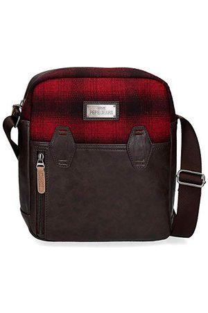"""Pepe Jeans Scotch torba na ramię czerwona 23 x 27 x 7 cm poliester i PU Portatablet 9,7"""""""