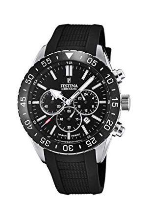 Festina Męski analogowy zegarek kwarcowy z silikonową bransoletką F20515/2