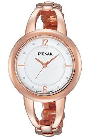 Pulsar Damski analogowy zegarek kwarcowy z powłoką ze stali szlachetnej PH8208X1