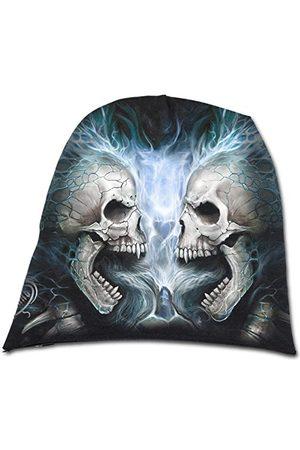 Spiral Spiralne bezpośrednie płonące plecy lekkie bawełniane czapki czarne, jeden (rozmiar: jeden rozmiar)