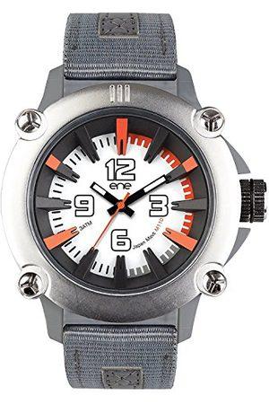 Eñe Męski analogowy zegarek kwarcowy z nylonowym paskiem 640018118