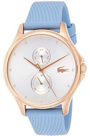 Lacoste Unisex-dorosły wielofunkcyjny zegarek kwarcowy z silikonowym paskiem 2001024