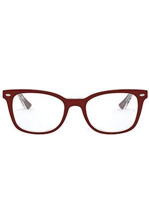 Ray-Ban Mężczyzna Okulary przeciwsłoneczne - Unisex dla dorosłych 0RX 5285 5738 53 oprawki okularów, (Topo Bordeaux On Transparent)