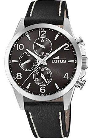 Lotus Męski chronograf kwarcowy zegarek ze skórzaną bransoletką 18630/4
