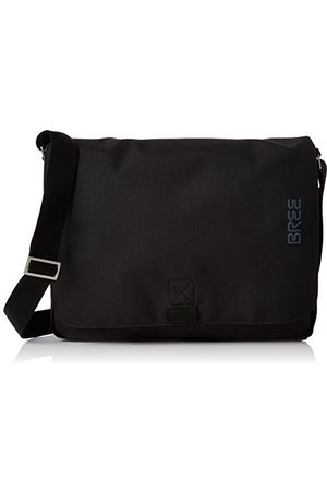 Bree Unisex Pnch Style 49 torba na ramię, 8 x 28 x 38 cm, - Black - 8x28x38 cm (B x H x T)