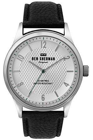 Ben Sherman Męski analogowy zegarek kwarcowy ze skórzanym paskiem WB025B