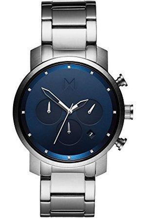 MVMT Męski chronograf kwarcowy zegarek z bransoletką ze stali szlachetnej D-MC02-SBLU