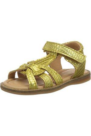Bisgaard Astrid sandały damskie z paskiem T, żółty - Gelb Mango 2105-36 EU