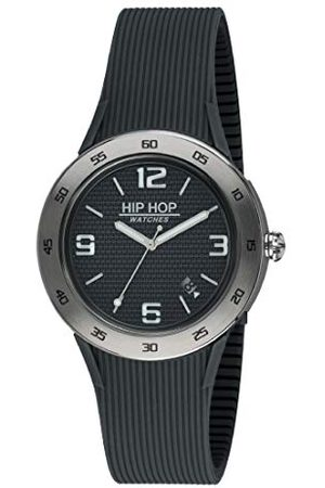 Hip Męski analogowy zegarek kwarcowy z silikonowym paskiem HWU0702