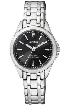 Citizen Damski analogowy zegarek kwarcowy z bransoletką ze stali szlachetnej ES4020-53E