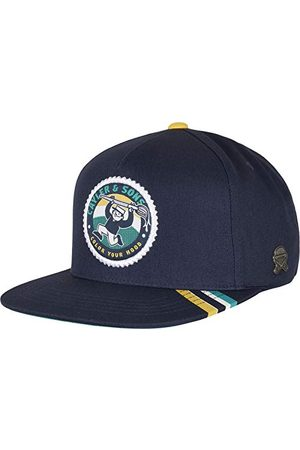 Cayler & Sons Unisex czapka bejsbolowa C&S CL kolorowa Hood Cap czapka z kapturem, granatowa/mc, jeden rozmiar