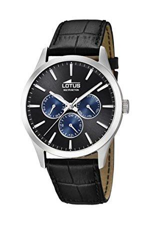 Lotus Męski wielofunkcyjny zegarek kwarcowy ze skórzanym paskiem 18576/6