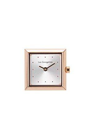 Les Georgettes Obudowa ze stali szlachetnej 21 x 21 cm kwadratowa różowo-złota/srebrna