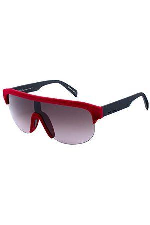Italia Independent Unisex 0911V-053-000 okulary przeciwsłoneczne, czerwone (Rojo), 135.0