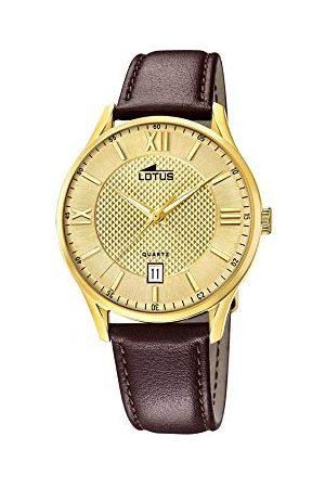 Lotus Męski analogowy kwarcowy zegarek ze skórzanym paskiem 18403/B